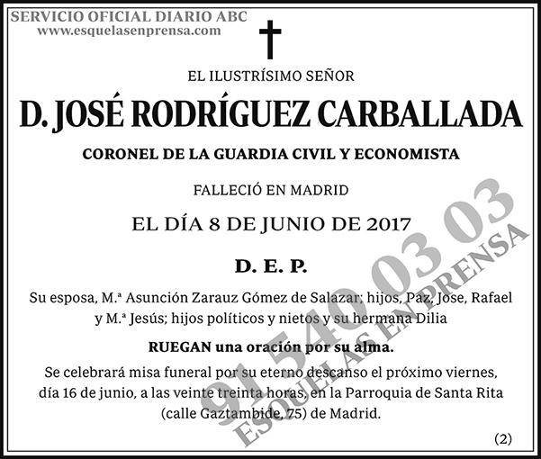 José Rodríguez Carballada